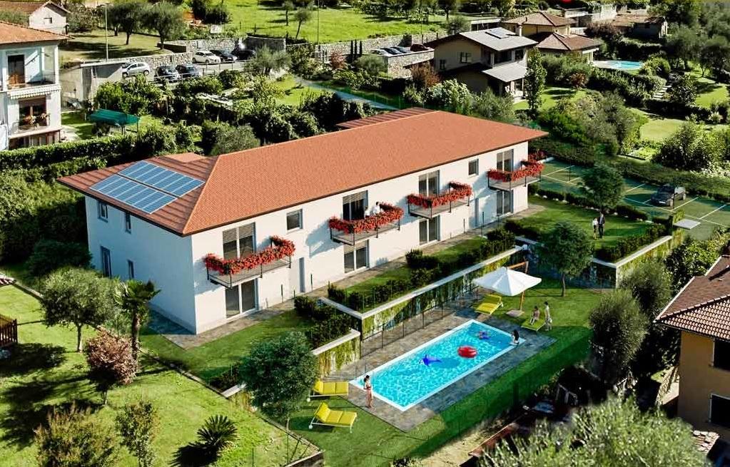 Apartments in Ossuccio