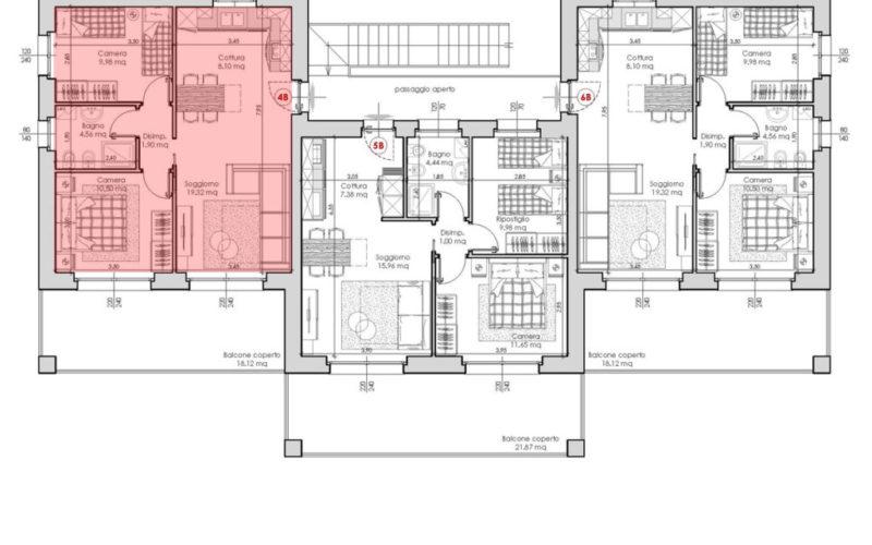 Appartamento 4B