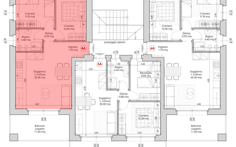 Appartamento 4A