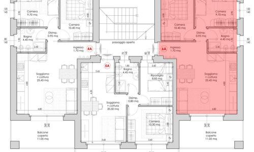 Appartamento 6A