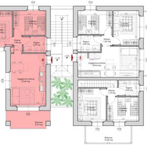 Appartamento 4-planimetria