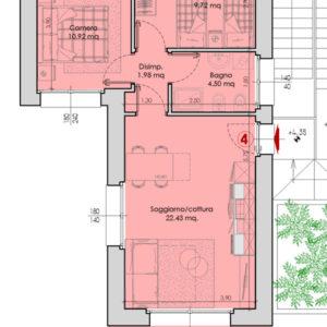 Appartamento 4-pianta.