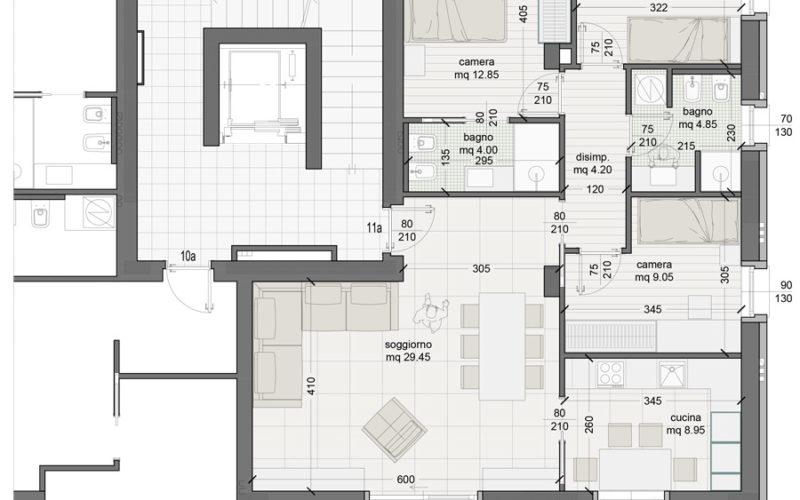 Appartamento 11A