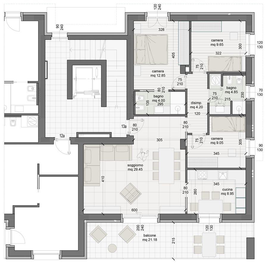 Appartamento 13A