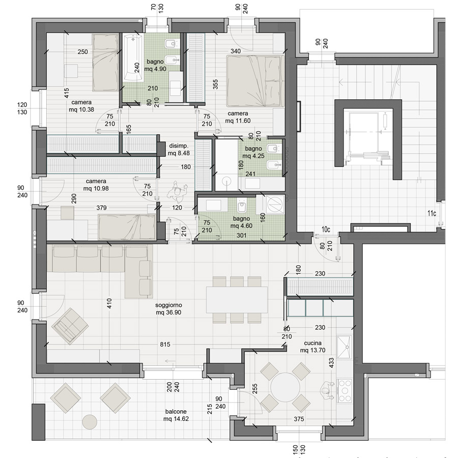 Appartamento 10C