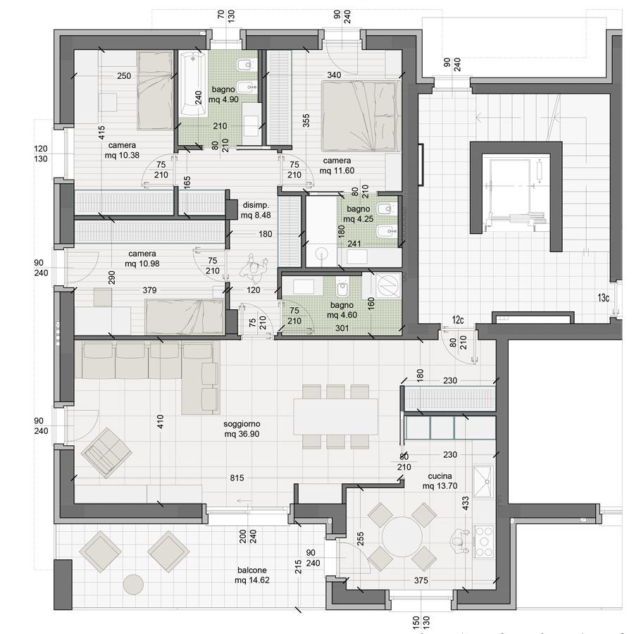 Appartamento 12C