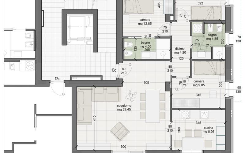 Appartamento 13C