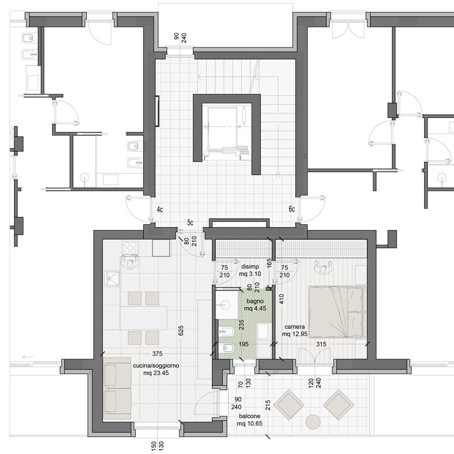 Appartamento 5C