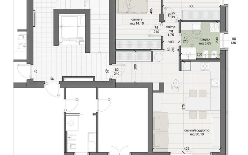 Appartamento 6C