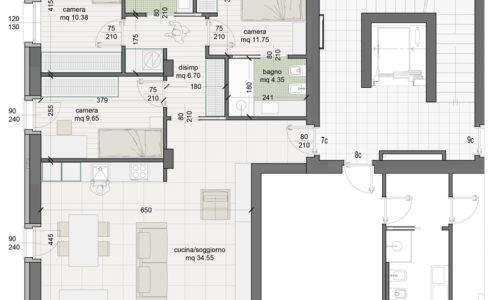 Appartamento 7C