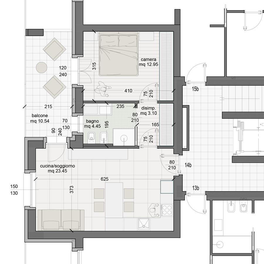 Appartamento 14B