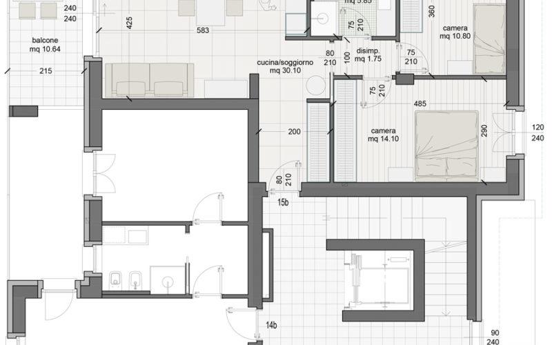 Appartamento 15B